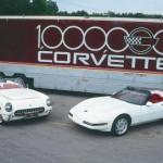 1992-corvette- 1,000,000th corvette
